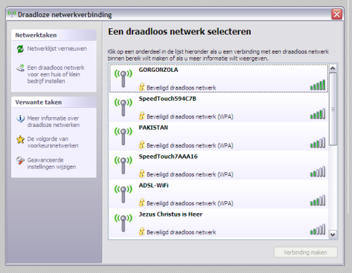 Wireless Network Names