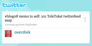 Twitter: Tim Overdiek