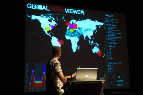 Global Party Viewer
